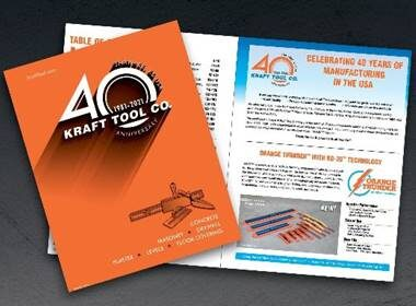 Kraft Tool Co 2021 Catalog