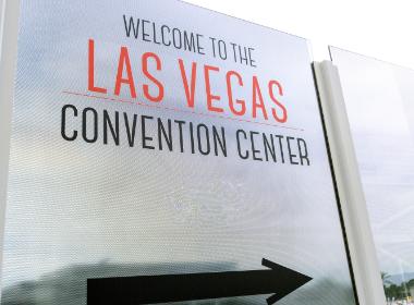 Las Vegas Convention Center Sign