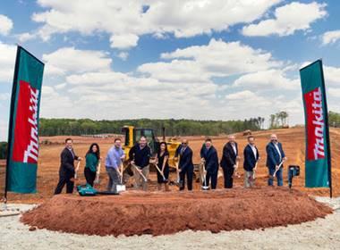 Makita Breaks Ground On Major Expansion