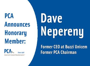 Dave Nepereny as honorary PCA Member