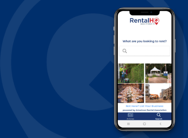 RentalHQ mobile app new from ARA