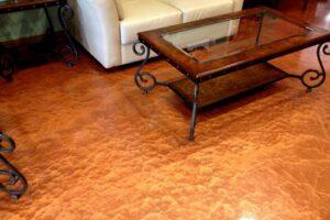 ColorChrome metallic flooring by APF