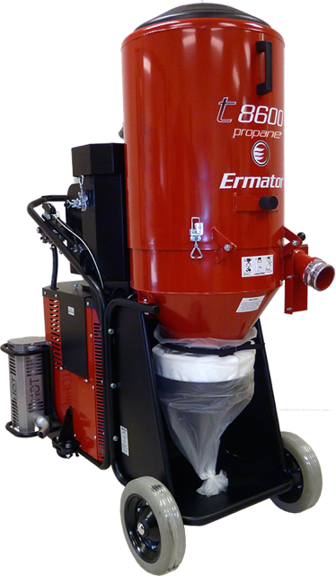 Scanmaskin introduces propane grinder and propane dust collector 2