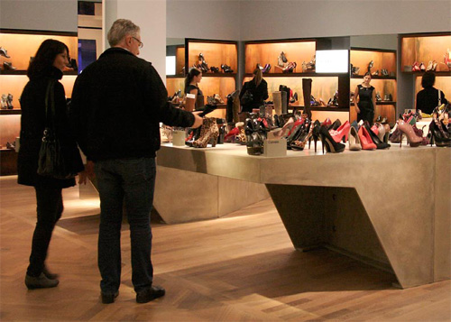 The tables were built to last, and they have received an amazing response from Selfridges customers, Miles notes.