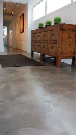 Concrete Chic flooring on Concrete Decor