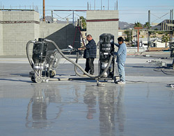 Decorative concrete work by Yezco Concrete Polishing