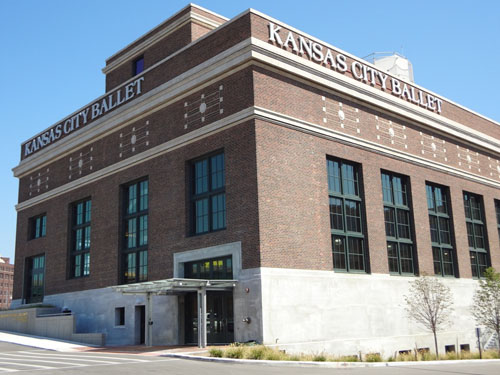 Concrete Restoration: Todd Bolender Center for Dance, Kansas City, Mo