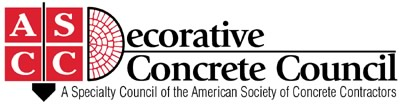 Decorative Concrete Council ASCC logo