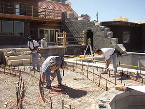 Arcon of Las Vegas uses structural concrete on a large outdoor project