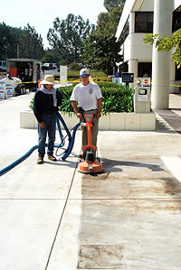 Concrete Maintenance using the right methods can make a concrete slab look like it was just installed.