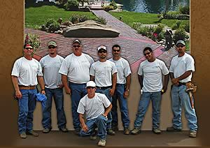 Carlton Concrete's crew on a jobsite.