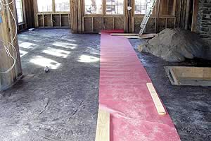 Radiant heat can be done with hydronic systems as well.