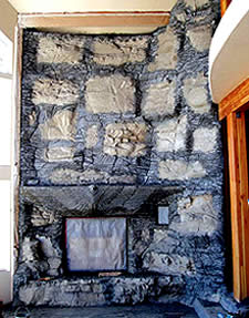 "Concrete Fireplace - it is critical that the structure of the house be adequate to support a concrete hearth and surround. ""Make sure the foundation can handle the load,"" Cheng says, ""and don't cantilever the hearth too far over the floor joists."""