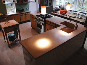 Cheng Best Kitchen Counter top - Concrete Counter top