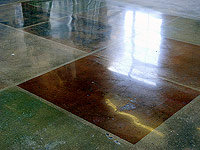 A Concrete Floor is a Renewable Resource - From a green/LEED viewpoint, it is important to know that although acetone does have a distinct odor, it is VOC-exempt, along with being a Non-HAP (Hazardous Air Pollutant) product per the Clean Air Act. Follow manufacturer safety guidelines during application.