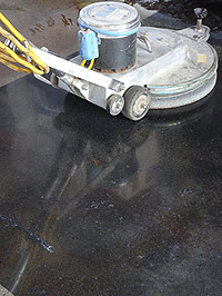 A Concrete Floor is a Renewable Resource - Color or not, polished concrete is the truly renewable floor.