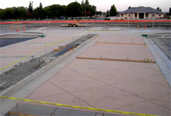 Decorative concrete commercial projects are gaining in popularity because of their aesthetic appeal.